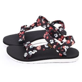 【TEVA】女款 經典織帶夾腳涼鞋(TV1009277PFLR-小白花)