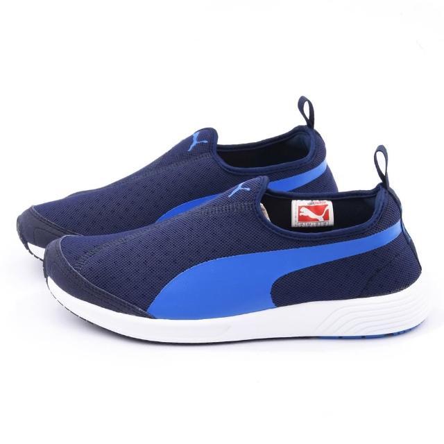 【PUMA】男款FTR TF-Racer Slip-on復古輕量休閒鞋(358277-02-藍)