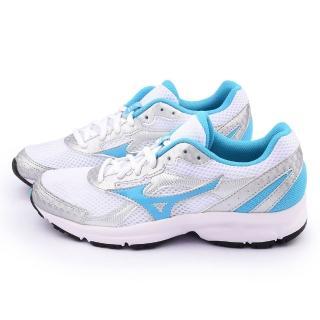 【MIZUNO】女款 CRUSADER 9 慢跑鞋(K1GA150432-銀藍)