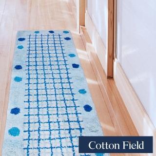 【快速到貨-棉花田】點點純棉提花走道毯-2色可選(45x135cm)