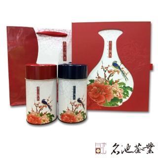 【冬茶最後一波】名池茶業 綜合茶禮阿里山高山茶 五分凍頂烏龍茶(青花傳香款/150克x2)