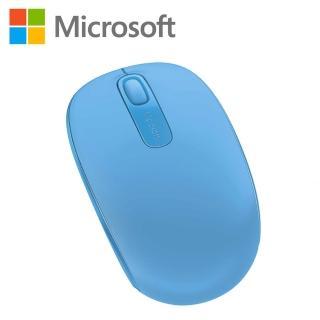 【微軟】Microsoft無線行動滑鼠1850 -活力藍(U7Z-00059)