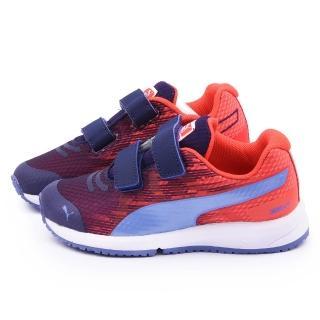 【PUMA】中大童 輕量透氣運動鞋(357910-06-紅)