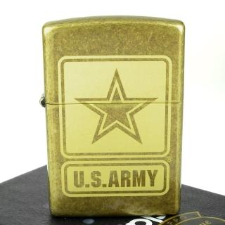 【ZIPPO】美系-U.S. Army-美國陸軍LOGO雷射雕刻打火機