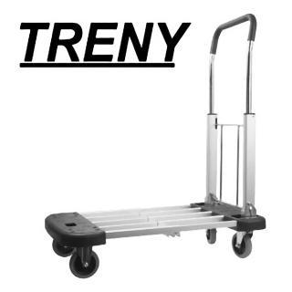 【TRENY】伸縮鋁製載物車-三段式-荷重150kg(7077)