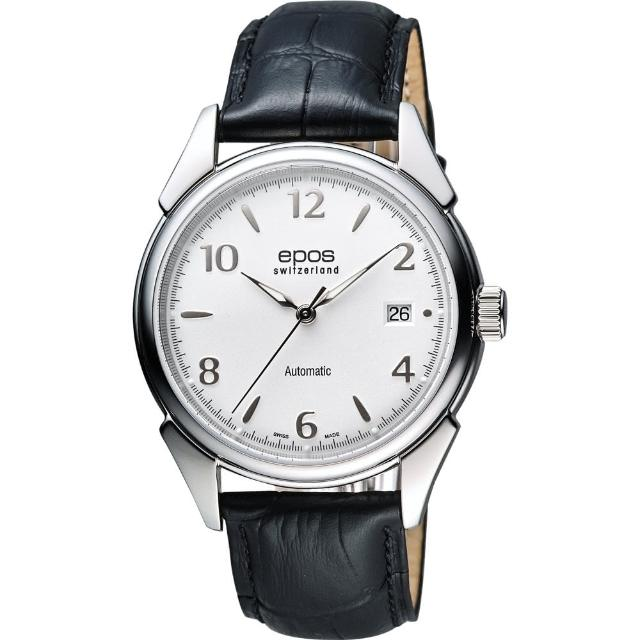 【epos】Originale 原創系列經典機械腕錶(3427.130.20.58.25FB)