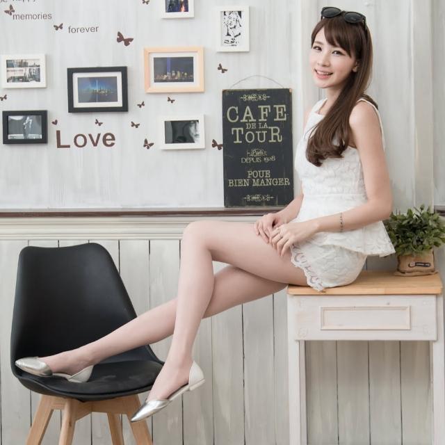 【Sneak Peek】透膚粉彩T襠美腿褲襪(淺粉  四雙組)