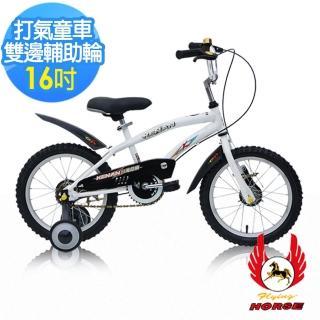 【飛馬】16吋打氣專利童車-白