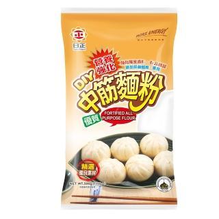 【日正食品】營養強化優質中筋麵粉(500g)