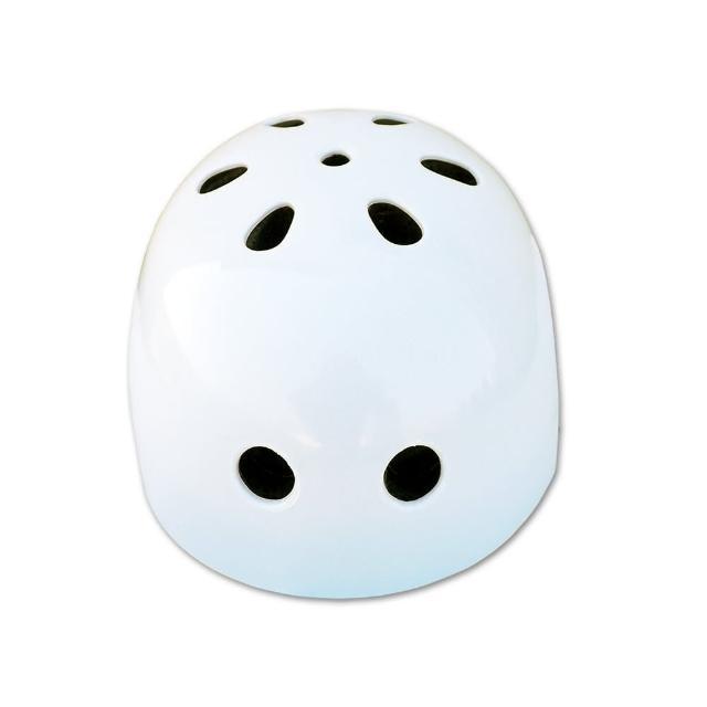 兒童直排輪安全帽(白)分享文