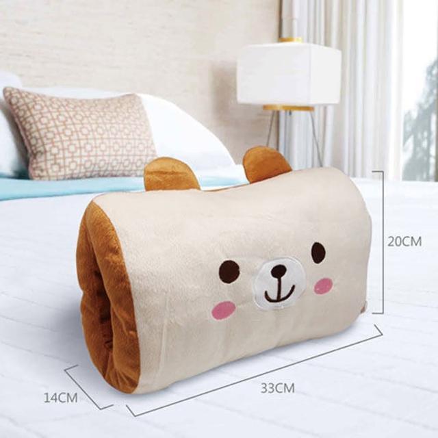 【英國熊】暖手抱枕(DL-0018)
