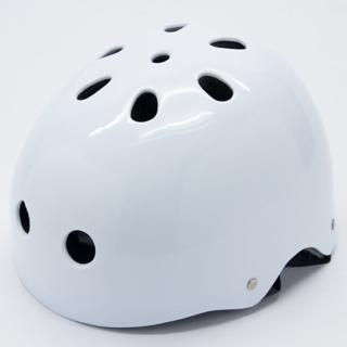 【D.L.D 多輪多】專業直排輪 溜冰鞋 自行車 安全頭盔 安全帽(白)