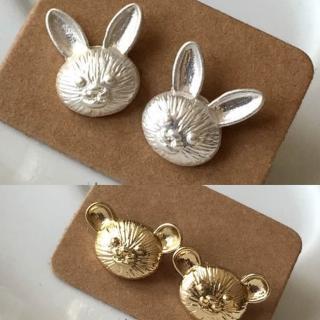 【梨花HaNA】日本可愛度滿點兔子小熊耳環