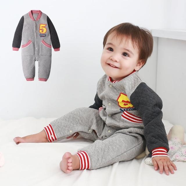 【baby童衣】包屁衣 棒球造型連身衣 50820(共1色)