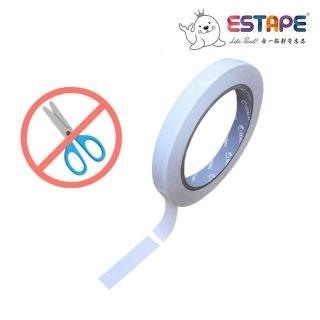【ESTAPE】免剪刀雙面膠帶(12mmX5M)