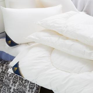 【JAROI】台灣製100%純天然羊毛冬被3KG(1被2枕-型)
