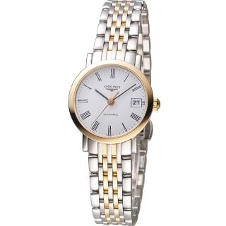 【LONGINES】浪琴優雅系列羅馬機械腕錶(L43095117)