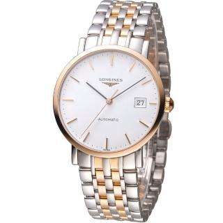 【LONGINES】浪琴優雅系列紳士機械腕錶(L48105127)