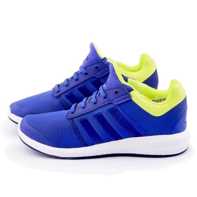 【Adidas】大童 輕量透氣運動跑鞋(B23818-藍)