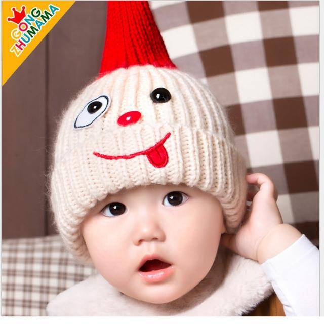 【韓版】小淘氣兒童毛線保暖帽