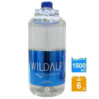 【WILDALP】奧地利天然礦泉水1500ml*6瓶