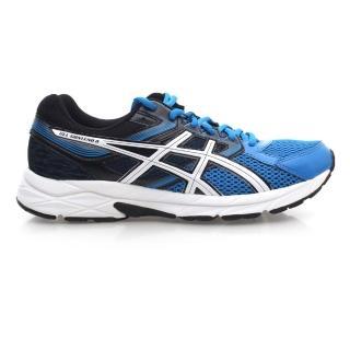 【ASICS】GEL-CONTEND 3 男慢跑鞋 - 運動 路跑 亞瑟士 藍黑白(T5F4N-3901)