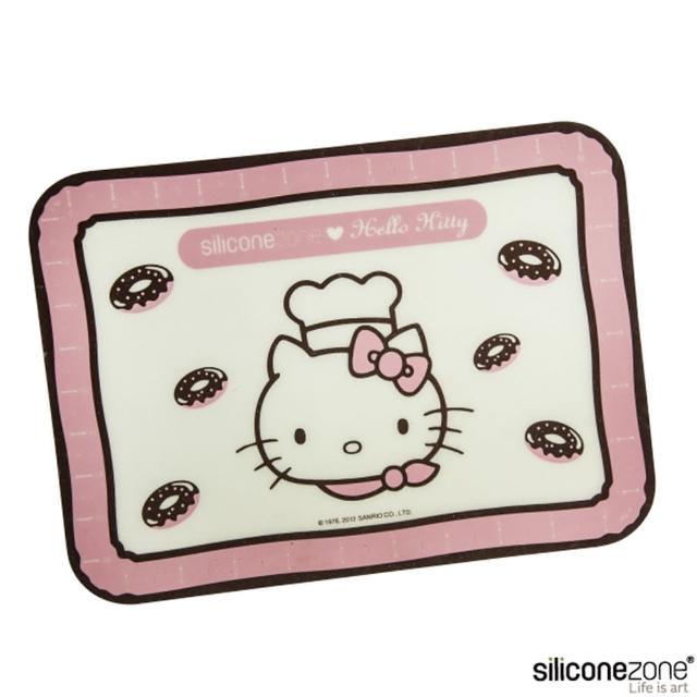 【Siliconezone】施理康Hello Kitty矽膠餅乾小烤箱墊