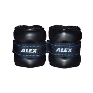【ALEX】PU型多功能加重器-4KG-重量訓練 健身 有氧(依賣場)
