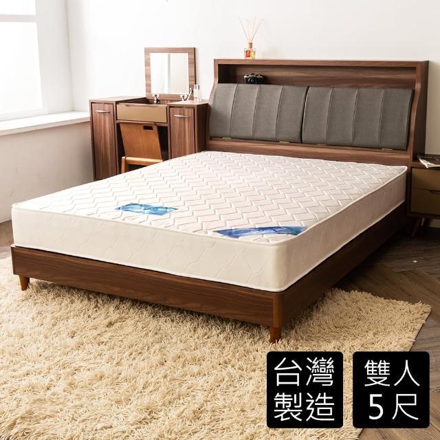 【時尚屋】5尺日式冬夏緹花蓆面獨立筒雙人床墊GA14-5(獨立筒 蓆面 冬夏兩用)