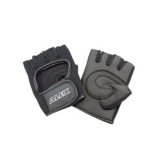 【ALEX】德國-第二代新平強化健力手套-抗壓抗磨-防臭透氣-健身 重量訓練(依賣場)