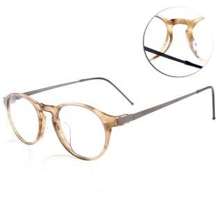 【JULIO眼鏡】完美工藝(透棕黃#BERLIN HON)