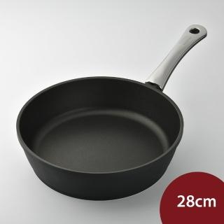【德國寶迪Berndes】黑鑽不沾鍋 28cm(鈦合金 平底鍋 德國製造)