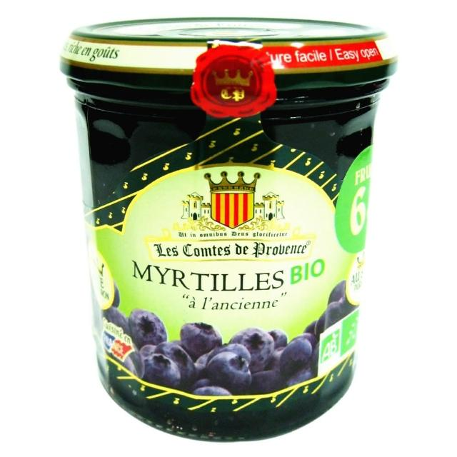 【Comte】康迪有機藍莓果醬(350g)