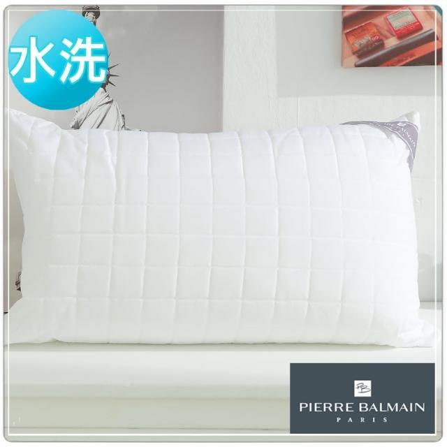 【PB皮爾帕門】超Q彈可水洗纖維舒適枕(2入)/