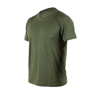 【HODARLA】激膚無感衣 男女涼感短T恤-0秒吸排抗UV輕量吸濕排汗無著感 軍綠(3103912)