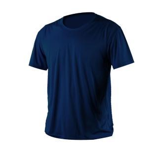 【HODARLA】激膚無感衣 男女涼感短T恤-0秒吸排抗UV輕量吸濕排汗無著感(丈青)