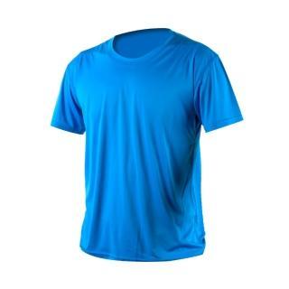 【HODARLA】激膚無感衣 男女涼感短T恤-0秒吸排抗UV輕量吸濕排汗無著感(寶藍)