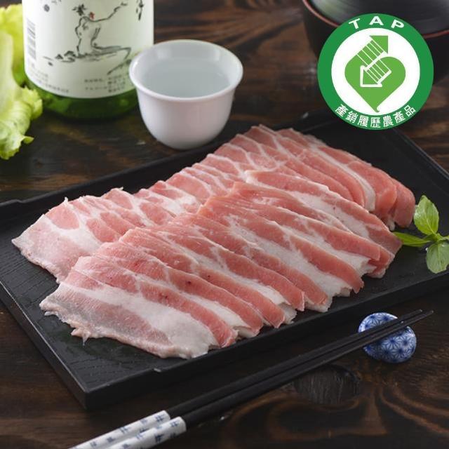 【鮮食家任選799】家香豬 培根-五花肉片(300g/包)
