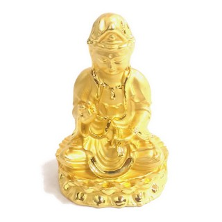 【十相自在】5.5公分 小佛像/法像-金色(觀世音菩薩)