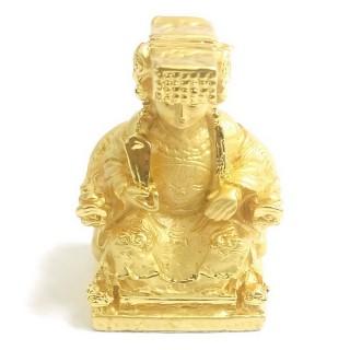 【十相自在】5.2公分 小佛像/法像-金色(聖母媽祖)