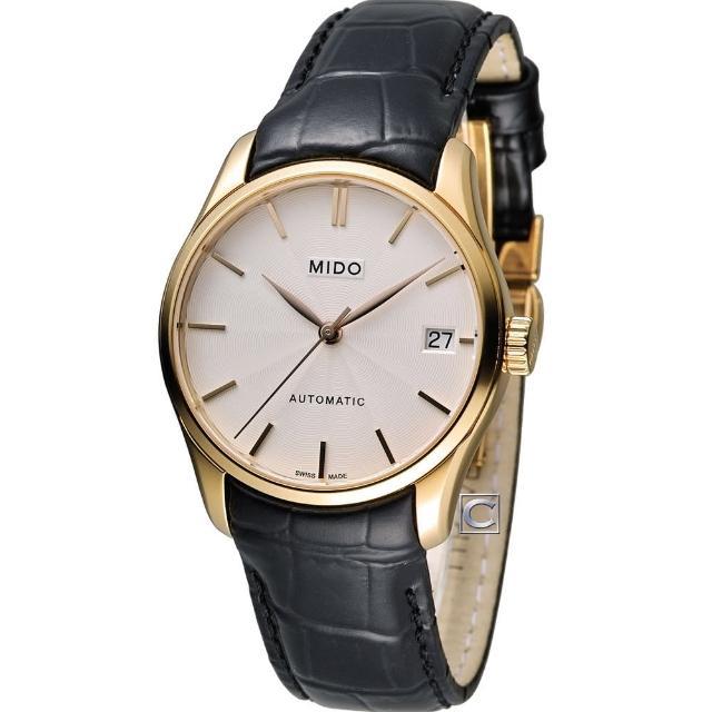 【美度 MIDO】Belluna ll 永恆優雅80小時動力儲存機械錶(M0242073603100)
