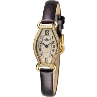 【玫瑰錶 Rosemont】骨董風玫瑰系列腕錶(TRS024-01-BR)