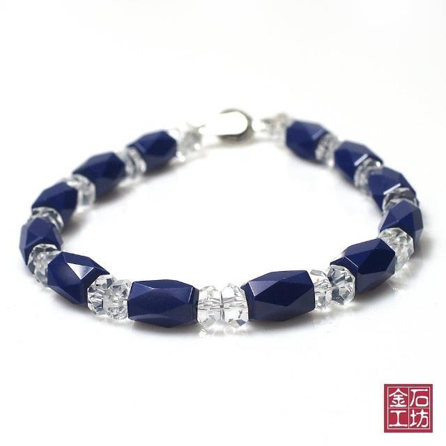 【金石工坊】青金石手鍊-獨領風尚