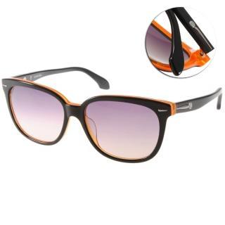 【Calvin Klein太陽眼鏡】熱銷經典款(黑-橘#CK4215S 090)