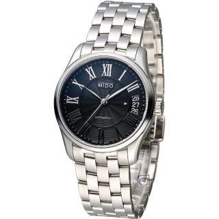 【美度 MIDO】Belluna II 時尚名媛80小時動力儲存機械錶(M0242071105300)