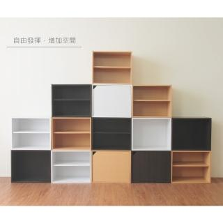【Hopma】日式二層櫃/收納櫃/置物櫃-無門有隔層(1入)