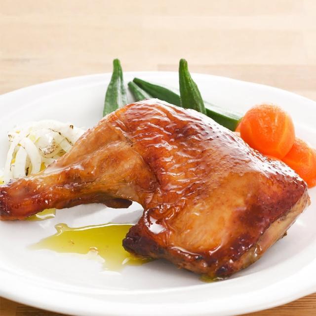 【鮮食家任選799】呷七碗私房SPA烤雞腿(380g/包/2入)