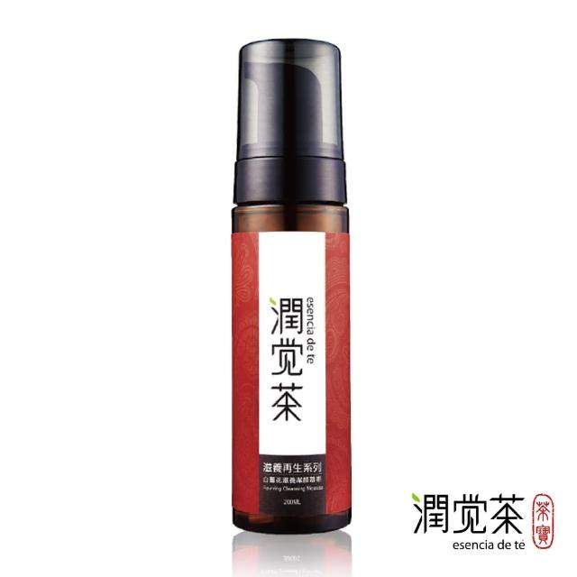 【潤覺茶】白薑花滋養潔顏慕斯(200ml)