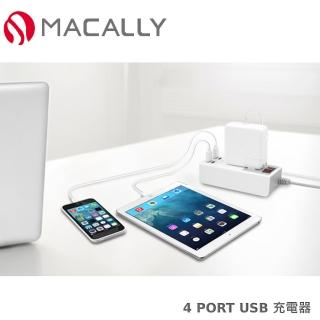 ~Macally~4 PORT USB 交流電源充