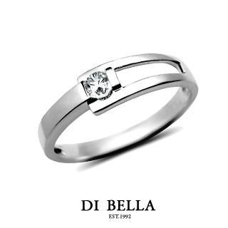 【DI BELLA】Perfect Love 真鑽情人戒指(男款)